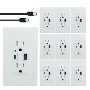 type c usb outlet