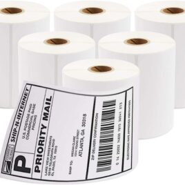 4″ x 6″ Thermal Shipping Labels 350 x 6 Rolls